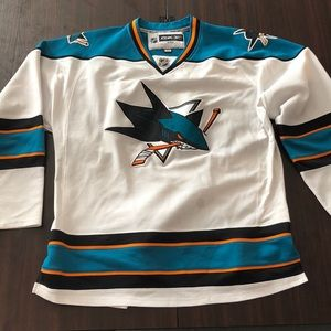 Other - Authentic San Jose Sharks Hockey Jersey
